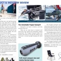 AFLOAT Magazine -The Remarkable Trogear Bowsprit