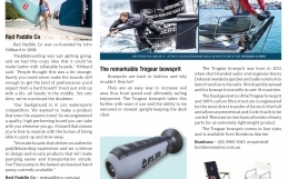 AFLOAT Magazine -The Remarkable Trogear Bowsprit