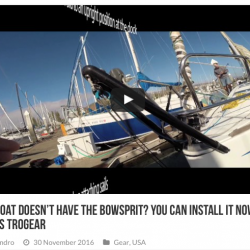 Your boat doesn't have the Bowsprit? You can install it now, his name is Trogear