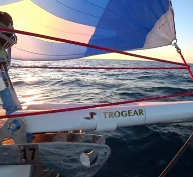 Jeanneau 53 w/Trogear Custom Bowsprit mounted on anchor roller with custom Brackets | USA