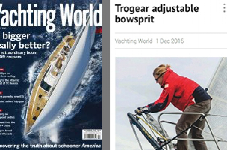 Yachting World – Trogear – a smart idea